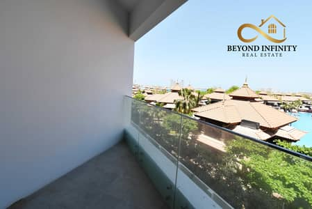 شقة 1 غرفة نوم للايجار في نخلة جميرا، دبي - Brand New | Huge Size 1BHK |  Sea View