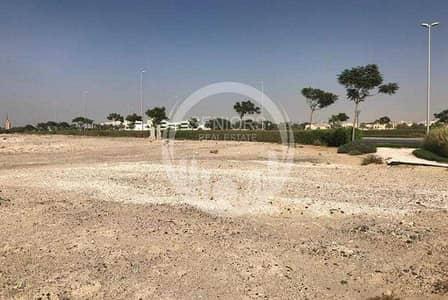 ارض تجارية  للبيع في هضبة الزعفرانة، أبوظبي - Huge commercial land. Can build 4 Villas