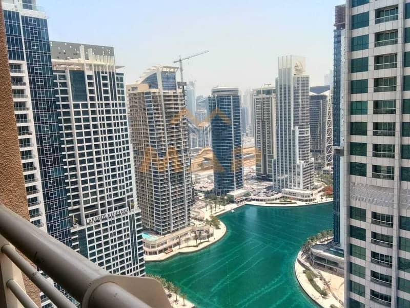 2bhk on high floor with 2 balconies
