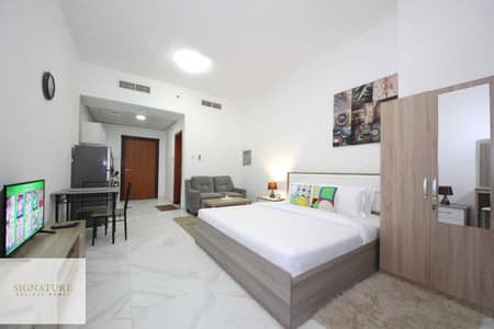 Studio for Rent in Dubai Silicon Oasis, Dubai - New Furnished studio apartment in Palace Tower