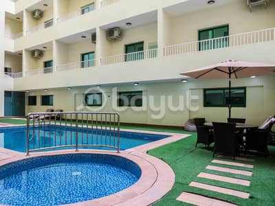 Studio for Rent in Al Amerah, Ajman - limited offer/ new/fewa/ excellent location & one month free
