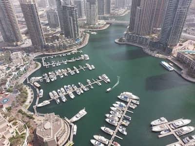 فلیٹ 3 غرف نوم للايجار في دبي مارينا، دبي - شقة في بوابة المارينا 1 بوابة المارينا دبي مارينا 3 غرف 210000 درهم - 5259961