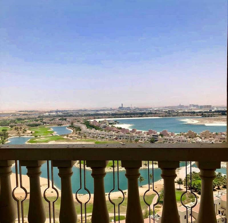 For rent  furnished 1 bed lagoon view flat