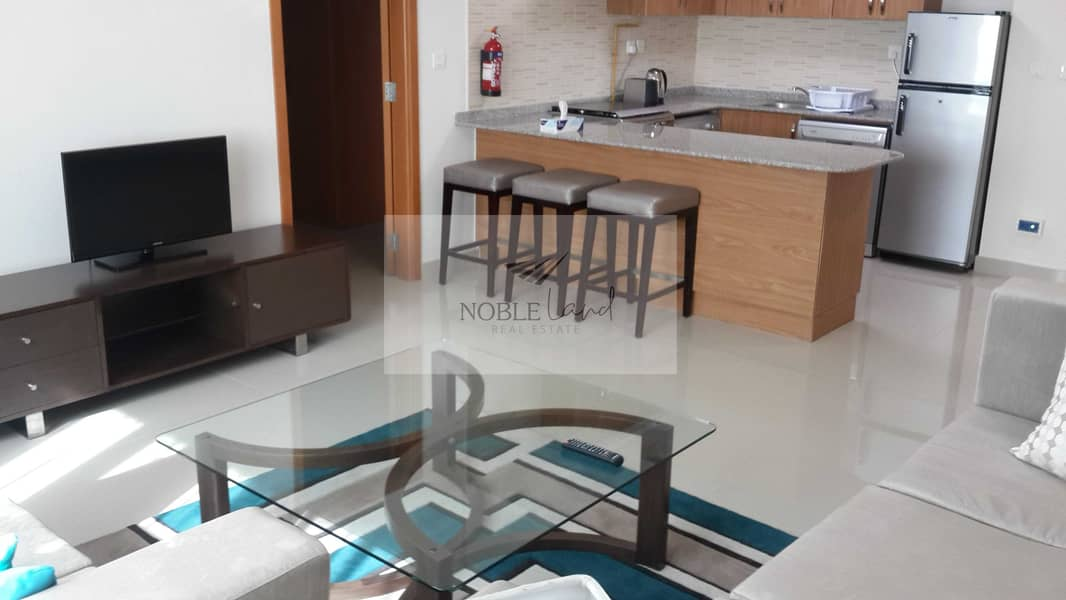 Spacious Modern Living | Balcony | Located in Downtown Jebel Ali