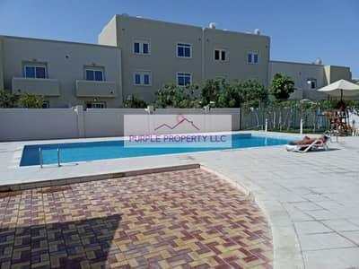 فیلا 2 غرفة نوم للايجار في الريف، أبوظبي - Fabulous Garden in this 2 bed villa in Desert Community