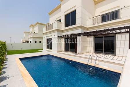 6 Bedroom Villa for Sale in Al Furjan, Dubai - Custom Built  6Br Luxury  Villa wt pool and Driver's room