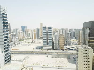 2 Bedroom Apartment for Rent in Al Taawun, Sharjah - 45 days free open view spacious 2bhk with balcony,wardrobe,master bedroom,gym,pool,kids play area