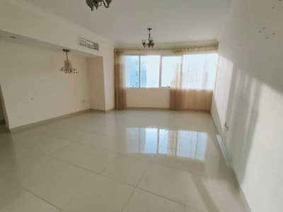 2 Bedroom Flat for Rent in Al Taawun, Sharjah - 2 month free spacious 2bhk with balcony,wardrobe,parking,master bedroom