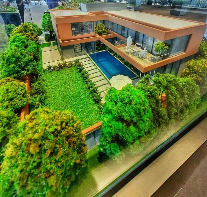 Smart villa - 5 Bedrooms with privet pool in SHARJAH