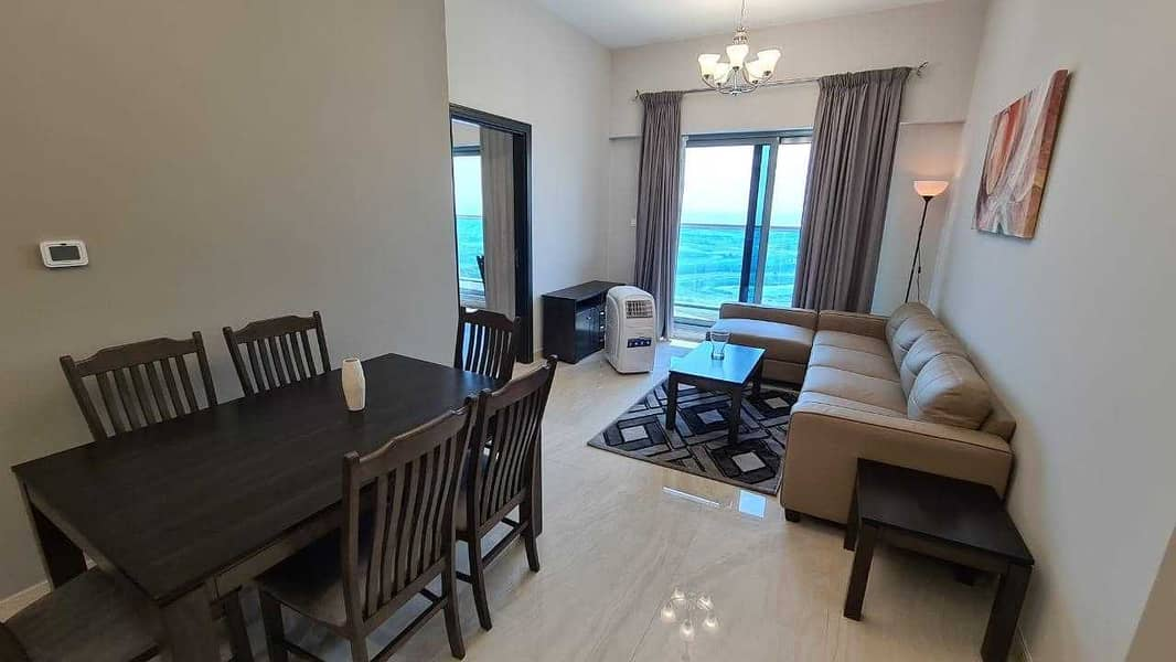 2 Brand New FULLY FURNISHED 1 BED apt with stunning view of CANAL & BURJ in ELITE RESIDENCE