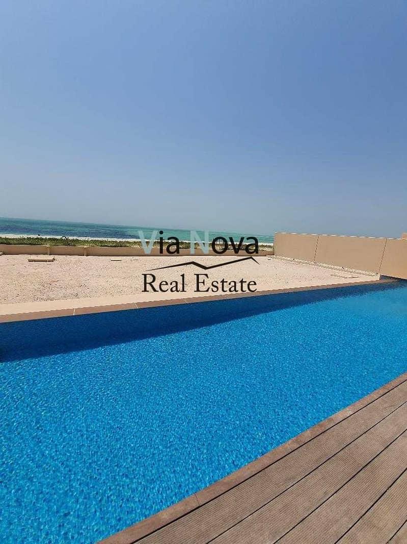 19 Villa with direct beach access