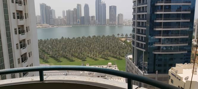 3 Bedroom Apartment for Rent in Al Majaz, Sharjah - 1 Month Free No Commission No Deposit 3 Bed Room Hall Flat with Balcony Central Duct  A/c In Al Majaz 1 Sharjah