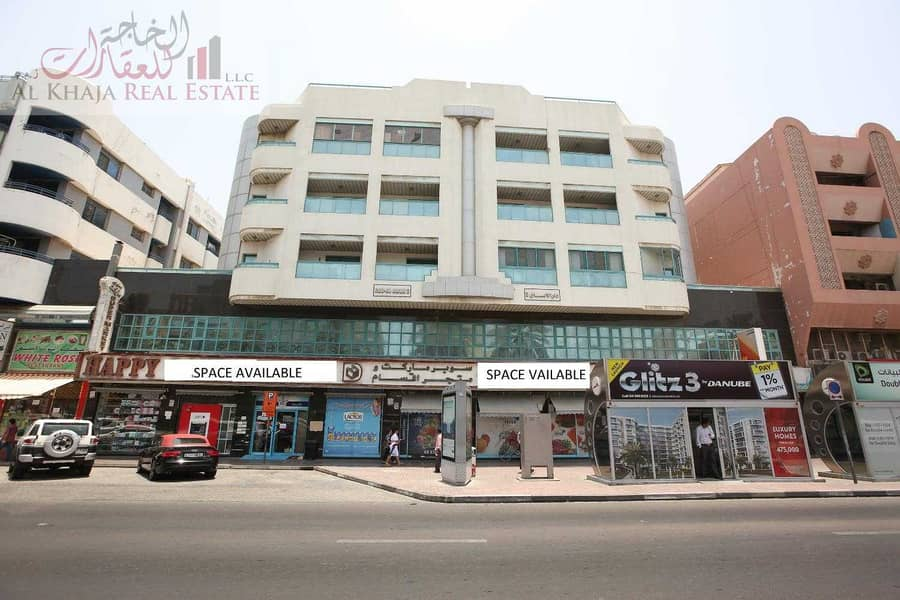 Independent Commercial Office On Main Road At Prime Location of Al Muteena
