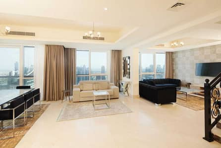 بنتهاوس 4 غرف نوم للايجار في دبي مارينا، دبي - Penthouse- Fully furnished-All bills included- No Commission-Flexable payment