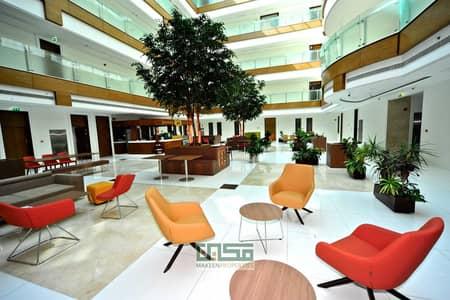 مکتب  للايجار في القرهود، دبي - Chiller Free! Fitted office for rent|No commission