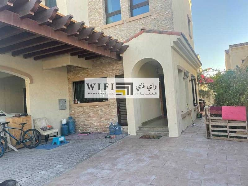 2 For sale in Abu Dhabi excellent villa (Bloom Garden)