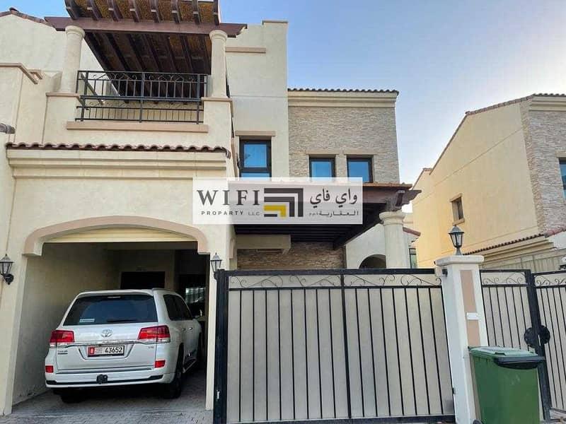 11 For sale in Abu Dhabi excellent villa (Bloom Garden)