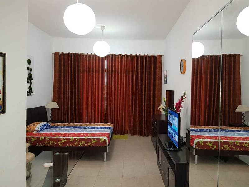 Hot Deal@ Amazing fully furnished studio only 3200 including all bills in palace tower_DSO