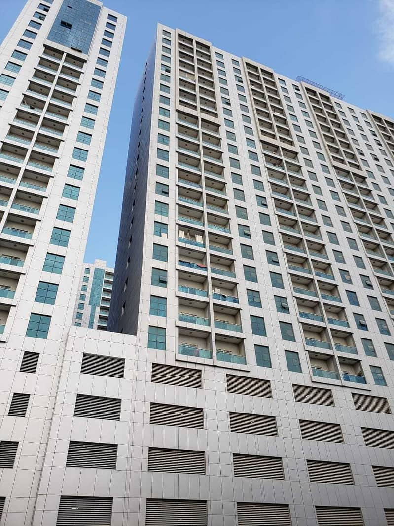 1 bhk with balcony open view for rent in city tower, ajman. . .
