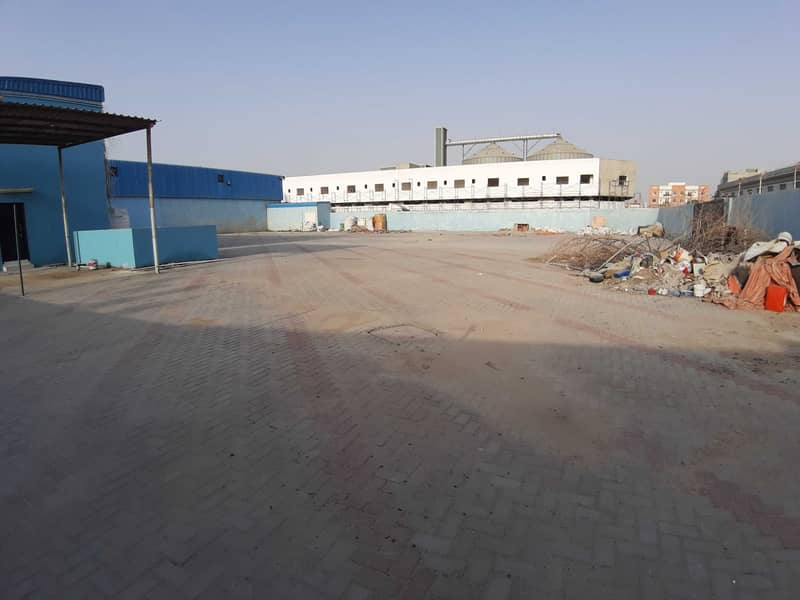 OPEN LAND WITH 3 PHASE ELECTRICITY AVAILABLE FOR RENT IN AJMAN. .