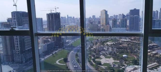 Office for Rent in Al Majaz, Sharjah - Panorama View  Prime Location  Higher Floor