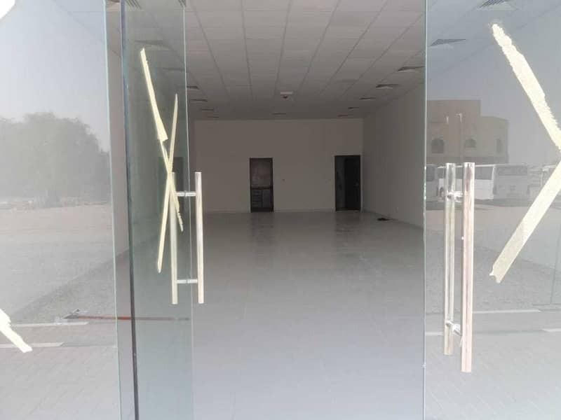 2 New Shop with Big Space  Available Near Camel Market