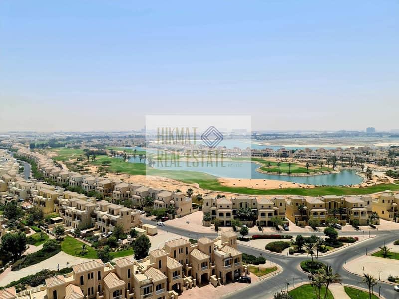 Elegant Huge Fully Furnished Golf & Lagoon View 1 BHK