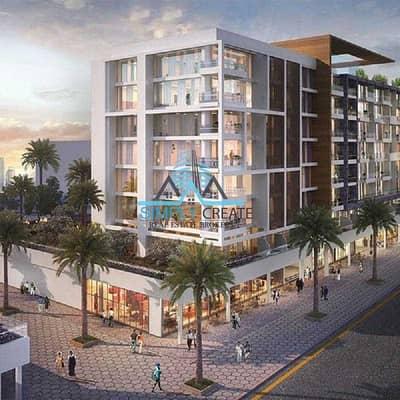 Plot for Sale in Meydan City, Dubai - Off Plan for Sale   Meydan Riviera  14 / Azizi developer
