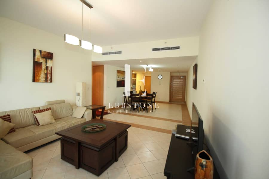 2 Bed + Maid   Fully Furnished   Marina View