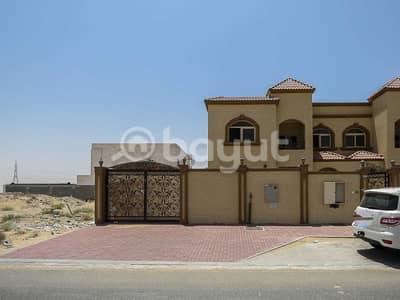 4 Bedroom Villa for Sale in Hoshi, Sharjah - For sale two twin villas in Hoshi good price