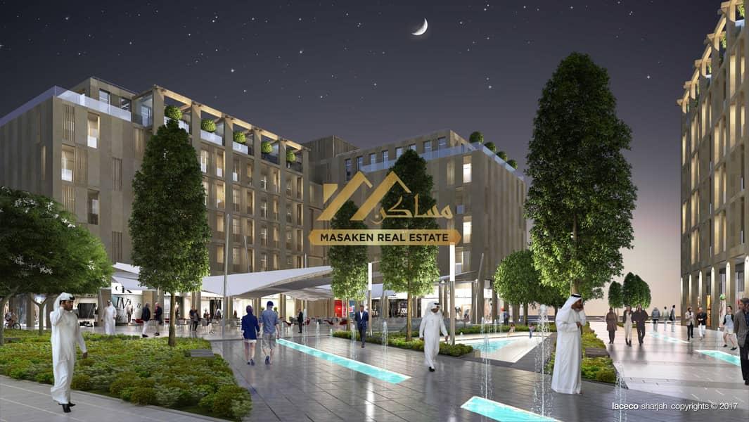 شقة في الممشى مويلح 335000 درهم - 5134233