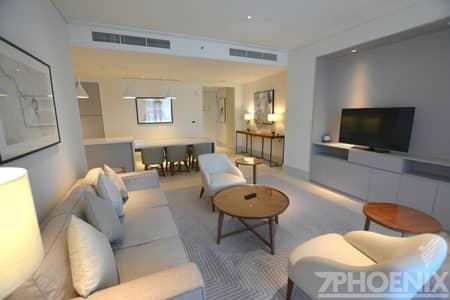 2 Bedroom Hotel Apartment for Rent in Downtown Dubai, Dubai - Spacious 2BR|Fountain View |Spacious layout