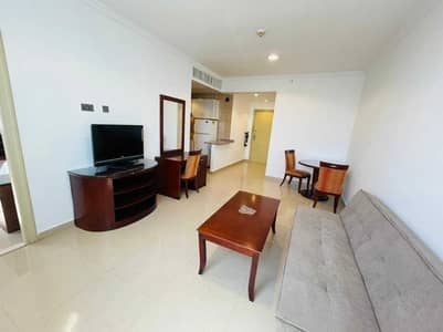 1 Bedroom Flat for Rent in Al Nahyan, Abu Dhabi - Furnished 1BR | With Tawtheeq | No Cheques Required