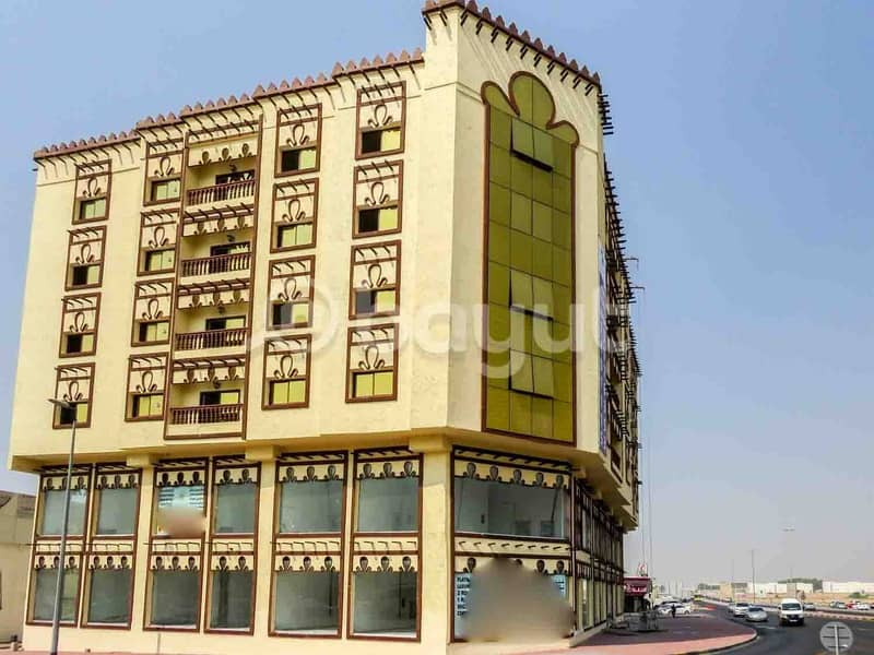 Brand New 1 Bedroom Hall Best place in Hamidiya Opposite to Ajman Police Station near to signal