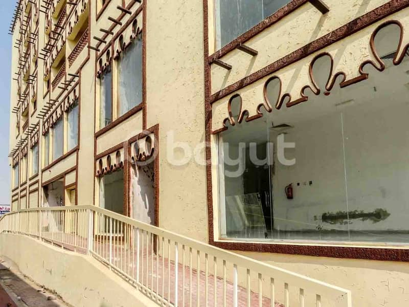 2 Brand New 1 Bedroom Hall Best place in Hamidiya Opposite to Ajman Police Station near to signal