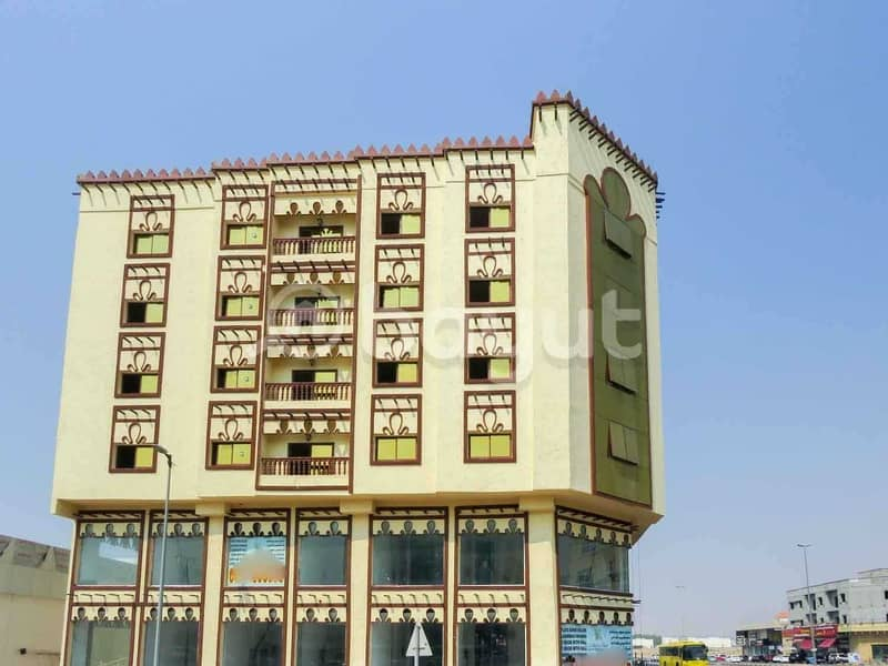 14 Brand New 1 Bedroom Hall Best place in Hamidiya Opposite to Ajman Police Station near to signal