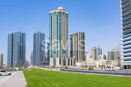 فلیٹ 2 غرفة نوم للايجار في القصباء، الشارقة - برج سكني جديد بمنطقة القصباء بأسم ( W )