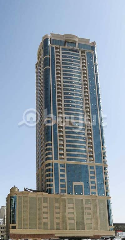 فلیٹ 3 غرف نوم للايجار في القصباء، الشارقة - برج سكني جديد بمنطقة القصباء بأسم ( W )