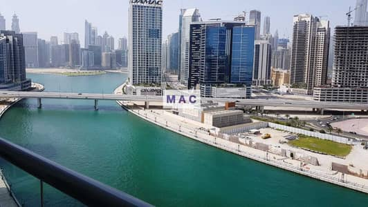 1 Bedroom Flat for Sale in Business Bay, Dubai - 812 SqFt | Full Burj and Canal view | High floor | 1 BR Fairview Residency | Tenanted (Investment)