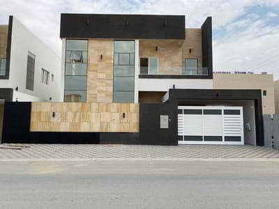 4 Bedroom Villa for Sale in Al Yasmeen, Ajman - Modern European villa for sale Attractive price and bank financing without initial payment Personal finishing with high quality building materials A division suitable for a