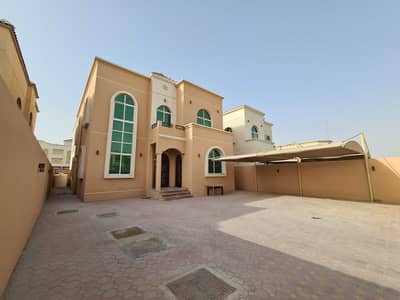 5 Bedroom Villa for Rent in Al Mowaihat, Ajman - 5 bed Villa for rent at a great price, super deluxe finishing, large area close to all services