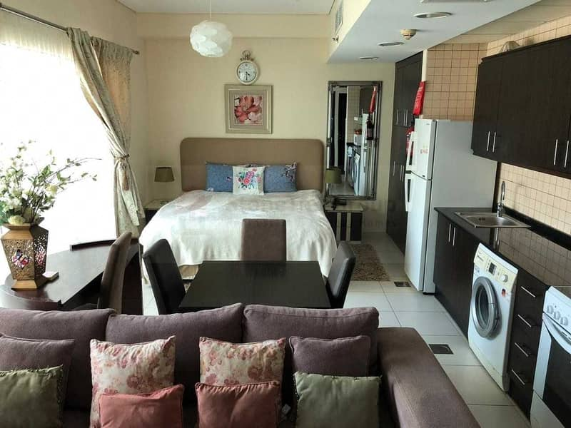 Fully Furnished Studio for sale in Royal Oceanic