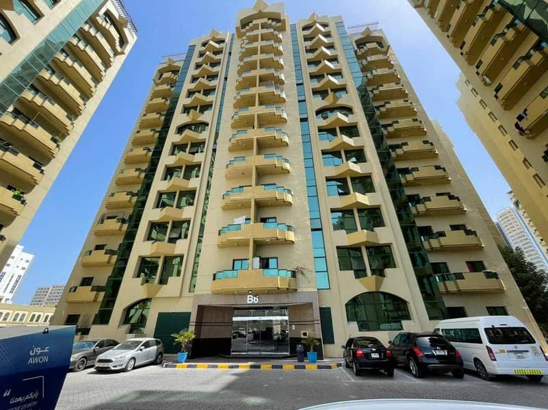 For rent a room and a hall in Al-Rashidiya Towers, an area of 1115 feet, in a great location