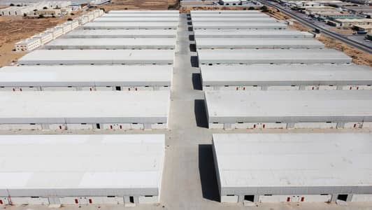 Warehouse for Rent in Emirates Modern Industrial Area, Umm Al Quwain - Hot offer AED  10 only Brand new shed 13,000sqft, @ AED 130,000 in UAQ