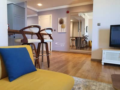 1 Bedroom Apartment for Sale in Dubai Marina, Dubai - Full sea view one bedroom for sale in Marina crown