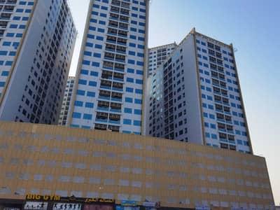 شقة 2 غرفة نوم للايجار في مدينة المرموقة، عجمان - شقة للإيجار في ابراج اللؤلؤة عجمان غرفتين وصالة بسعر مناسب