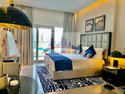 Studio for Rent in Business Bay, Dubai - Studio Fully Furnished in Majestine Tower Business Bay