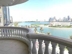شقة في بناية ريفييرا المجاز 3 غرف 110000 درهم - 4828835