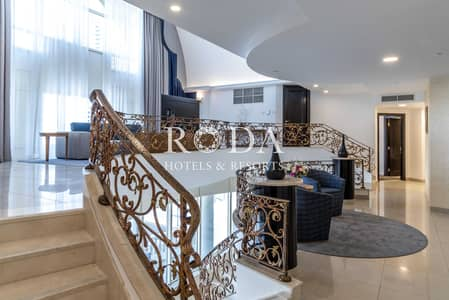 4 Bedroom Flat for Rent in DIFC, Dubai - Burj Khalifa View|Private Pool|No Additional Costs