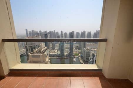 4 Bedroom Apartment for Sale in Jumeirah Beach Residence (JBR), Dubai - 4 BR+ Maid - Marina View - High Floor